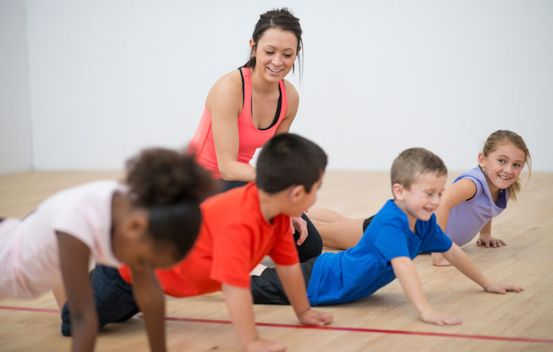 Children Get More Exercise